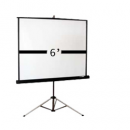 6′ tripod screen
