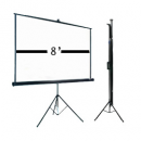 8′ tripod screen rental