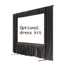 Optional dress kits for fast fold screens