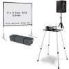 6X8 Screen + Projector +sound Package