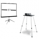 5ft screen + Projector Package