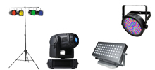 Lighting equiment rental