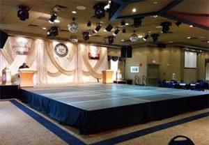 NYC stage rental av360